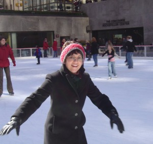 Skating at Rockefeller Center